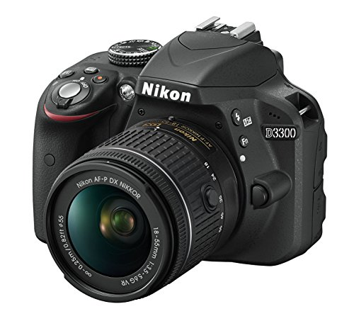Galleria fotografica Nikon D3300 Kit Fotocamera Reflex Digitale, con Nikkor AF-P 18/55 VR, 24.2 Megapixel, LCD 3, SD 8 GB 300x Premium Lexar, Nero, [Nital Card: 4 Anni di Garanzia]