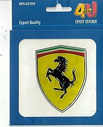 Epxoy Sticker - Ferrari