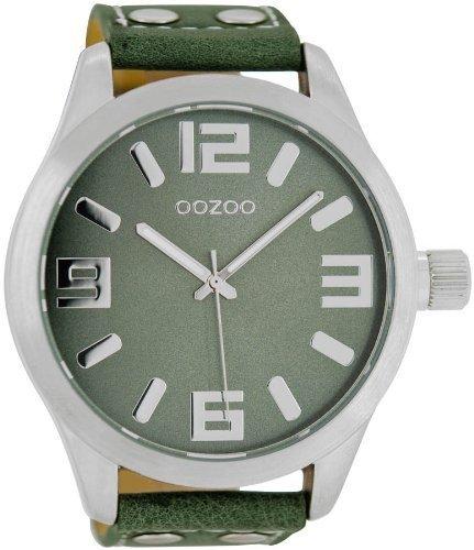 Oozoo c1011 - Orologio da uomo, cinturino in pelle...