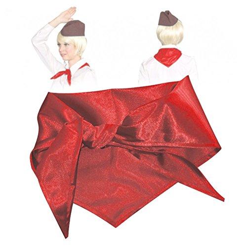 Krause & Sohn Halstuch rot Kostüm Zubehör Thälmann Pionier DDR Mottoparty Fasching Ostalgie (Rote Kostüme Zubehör)