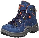 Lowa Unisex-Kinder Kody Iii GTX Mid J Trekking-& Wanderstiefel, Blau (Blue/orange 6021), 35 EU