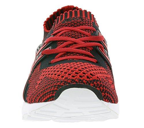 Asics Unisex-Erwachsene Gel-Kayano Trainer Knit Laufschuhe für Das Training auf der Straße Rot