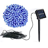 Vlio 8Modes Led Solar Power Fairy String Lights Outdoor Decorative Light 100 LEDs Waterproof IP44 with Light for Garden… 17