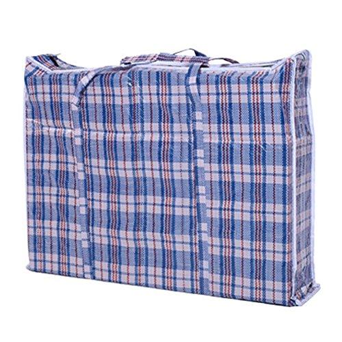 Cosanter Groß Faltbar Aufbewahrungstasche Beutel Organisator für Bettzeug, Kleidung, Matratze, Decken, Kissen -