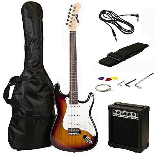 RockJam RJEG02-SK-SB - Kit de guitarra eléctrica