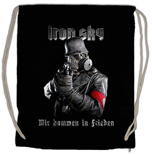 Urban Backwoods Iron Sky Soldier Turnbeutel Sporttasche Wehrmacht Soldat Glocke UFO Haunebu Vril Flugscheibe