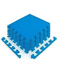 diMio Sport Tapis de protection–Tapis puzzle avec bord dans différentes tailles et couleurs–Tapis de Protection/Tapis/Tapis de fitness/WP250/Tapis de protection du sol