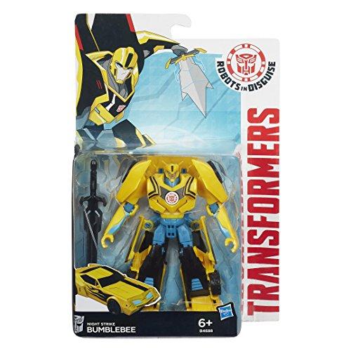 Transformers B0070EU40 - Figurina Transformers Robots in Disguise Warriors, 13 cm, Personaggi Assortiti