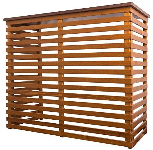 Fiano copri condizionatore in legno 102x50,5cm aria maxi noce
