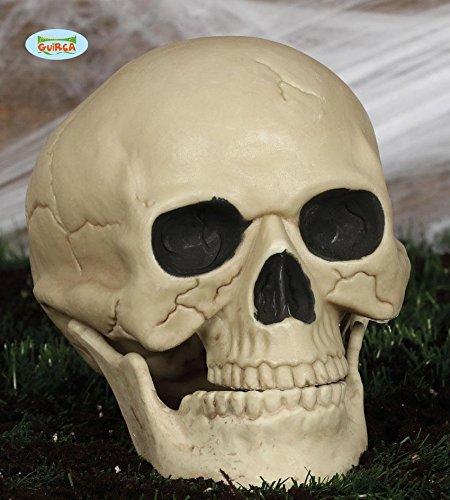 Totenkopf Horror Halloween Party Dekoration Skelett Knochen ca. 25 cm (Halloween-dekoration Skelett Knochen)
