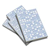 bingo ticket Pads x 4(200fogli, giochi 1000)