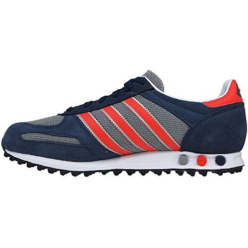 adidas La Trainer Herren Sneakers CBLACK/FTWWHT/BLIPUR