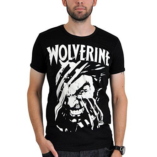 Wolverine Marvel Camiseta - Negra - L