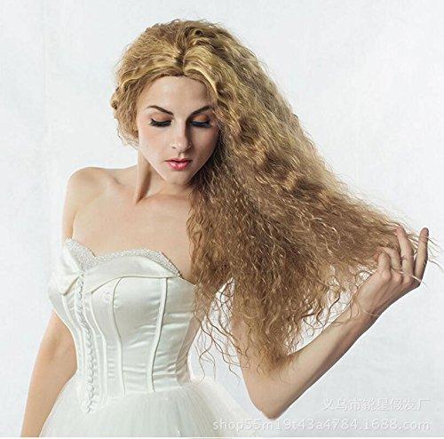 1234 Perücke Natural Wave, Mode, sehr hohe Temperaturen aus Mais, volles Haar Perücken setslace Front-Perücken
