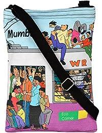 Eco Corner Women's Sling Bag (Multi-Coloured, 4062)