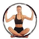 Fitness-Hula-Hoop-Reifen von Just be. Schwarz