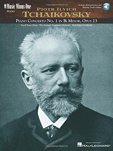 Tchaikovsky - Concerto No. 1 in B-Flat Minor, Op. 23: 2-CD Piano Play-Along Pack (Music Minus One Piano)