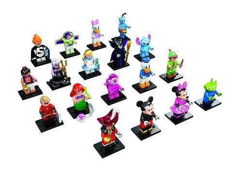 Lego disney 71012 Colección completa de 18 minifiguras