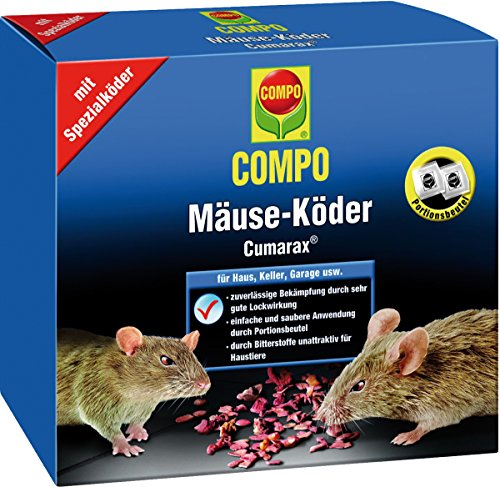 "Preisvergleich Produktbild Mäuse-Köder ""Cumarax®"" COMPO MÄUSE-KÖDER CUMARAX 200G 21534"