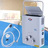 Ridgeyard 6L LPG Propane Gas Durchlauferhitzer Instant Boiler Heizthermen warmwasserspeich