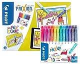 PILOT PEN my FRIXbook,FriXion Color Fasermaler 12er + Malbuch