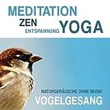 Meditation, Zen, Yoga und Entspannung mit Naturgeräuschen ohne Musik: Vogelgesang