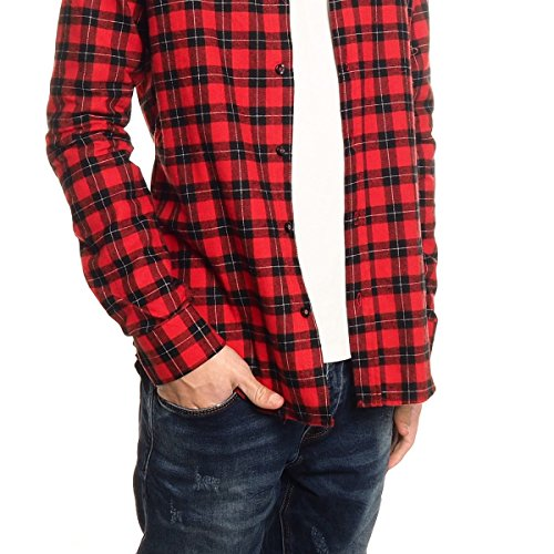 AKUSAWA Camicia AK836 Rosso