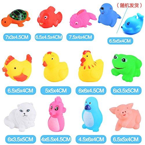 XuBa Bad Spielzeug Dusche Cartoon Tiere für Baby Kinder, Frühe Bildung Spielzeug