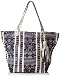 ESPRIT Women's 037EA1O020 Hobos and Shoulder Bag, Blue (400 Navy), 22 x 38 x 32.5 c...
