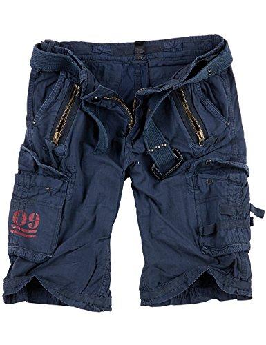 Surplus Blu Reale Pantaloncini Cargo-uomo - Royalblue, Uomo, L