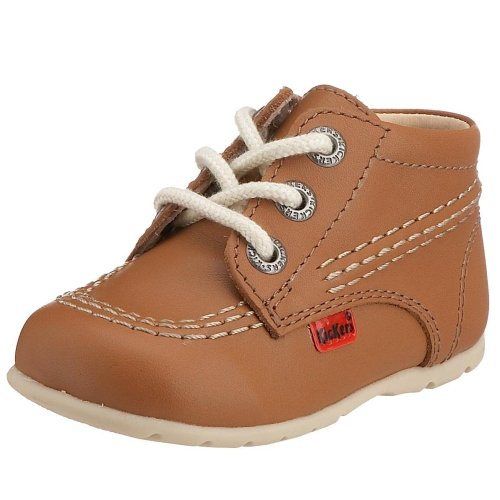 Kickers Unisex Kids' Toddler Kick Hi Shoes - Tan/Natural/Natural, 4.5 Child UK...