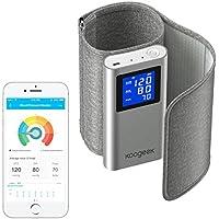 Koogeek Tensiómetro de Brazo Monitor de Presión Arterial Medir la Frecuencia Cardíaca FDA y CE Certificado con.