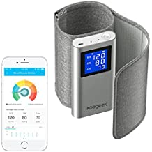 Koogeek Tensiómetro de Brazo Monitor de Presión Arterial Medir la Frecuencia Cardíaca FDA y CE Certificado