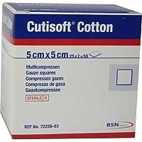 CUTISOFT Cotton Kompr.5x5 cm steril 25X2 St preisvergleich bei billige-tabletten.eu