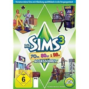Die Sims 3: 70er, 80er & 90er-Accessoires (Add-On)