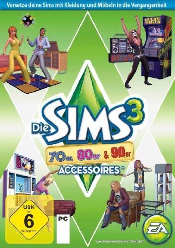 Die Sims 3 70er, 80er & 90erAccessoires Addon