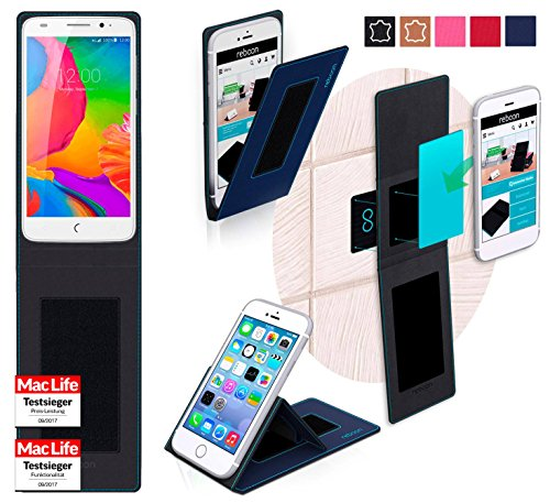 reboon Hülle für UMi eMax Mini Tasche Cover Case Bumper | Blau | Testsieger