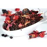 Rote Johanna Früchtetee, 100% Früchte, PREMIUM Früchte, ohne künstliche Aromen, warm & kalt, 100g - Bremer Gewürzhandel