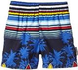 Elemar Short de bain pour garçon 4 ans Bleu - Bleu marine/multicolore