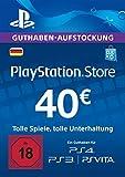 PlayStation Store Guthaben-Aufstockung 40 EUR [PS4, PS3, PS Vita PSN Code - deutsches Konto]