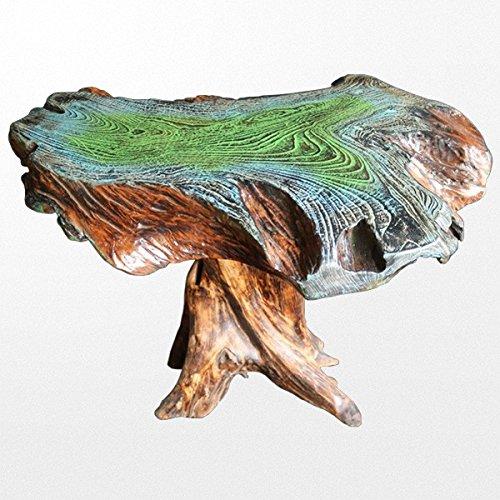 Atypik Home Somptueuse Table en Bois Massif patinée