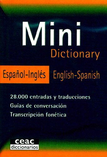 Mini Dictionary Español Inglés/English-Spanish