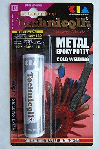 Epoxy Mastic4 Metall Eisen Stahl Reparatur Knete Kitt Plastisches -30°/+120° -