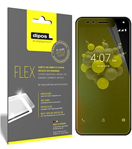 dipos I 3X Schutzfolie 100% passend für Allview A9 Plus Folie (Vollständige Bildschirmabdeckung) Bildschirmschutzfolie