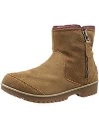 Sorel Meadow Zip - Botas para Mujer, Color Negro (10), Talla 38