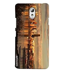 Omnam Full City Paranomic View Printed Designer Back Cover Case For Lenovo Vibe P1 M
