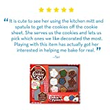 Melissa & Doug Slice-and-Bake Wooden Cookie Play Food Set (Pretend Play, High-Quality Materials, 30 Pieces, 26.67 cm H x 34.29 cm W x 8.255 cm L)