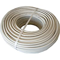 Cable H05VV-F Manguera 4x1mm 100m (Blanco)