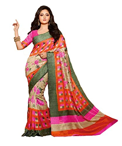 Glory Sarees Silk Saree (Kalapi26_Beige And Orange)