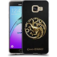 Officiel HBO Game Of Thrones Or Targaryen Symboles Étui Coque en Gel molle pour Samsung Galaxy A3 (2016)